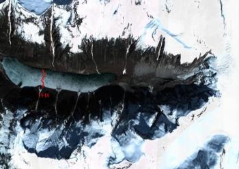 antler glacier