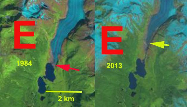 eagle glacier change
