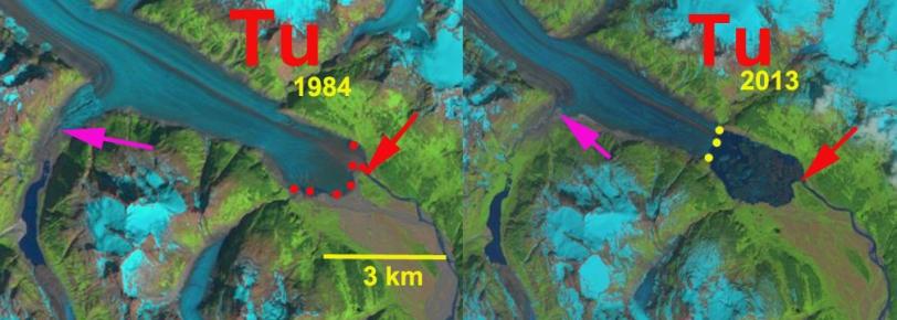 tulsequah glacier change