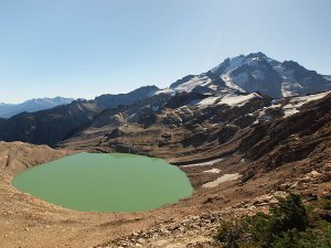 milk lake glacier 2009