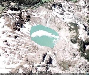 milk lake glacier