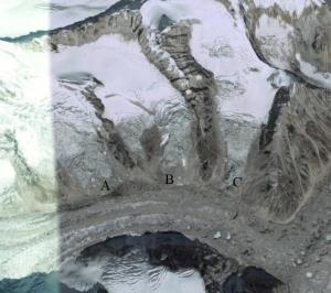 upper zemu glacier