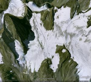 stubai glacier view