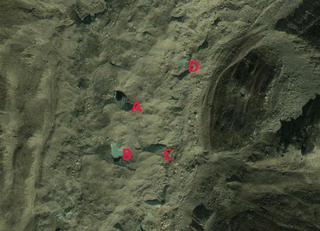khumbu 2009 lakes