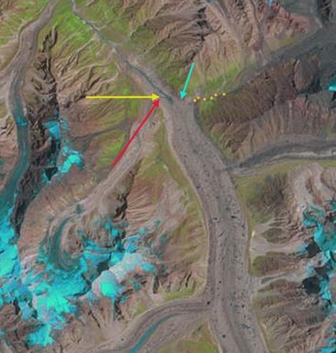 gangotri Glacier 2000