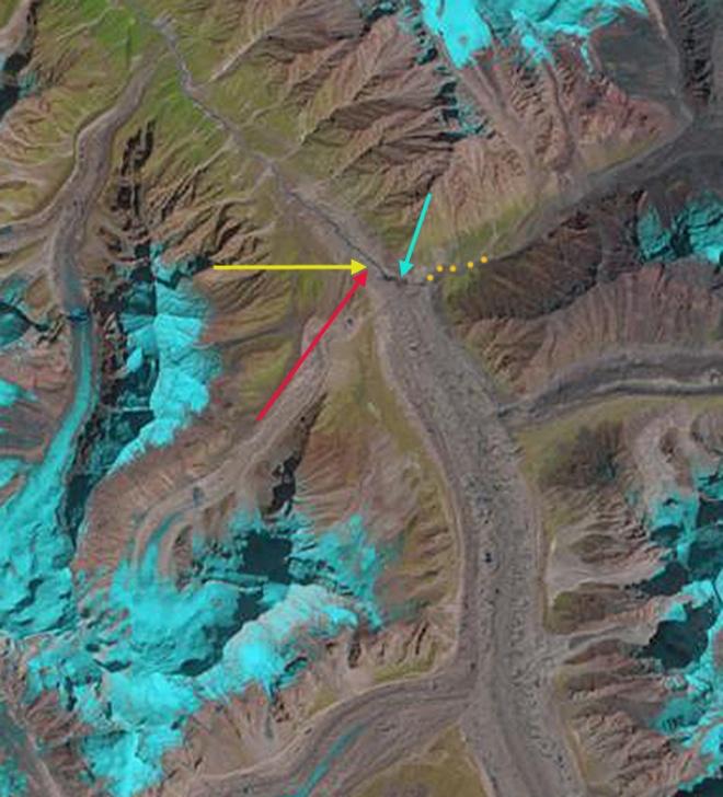 gangotri glacier 2013