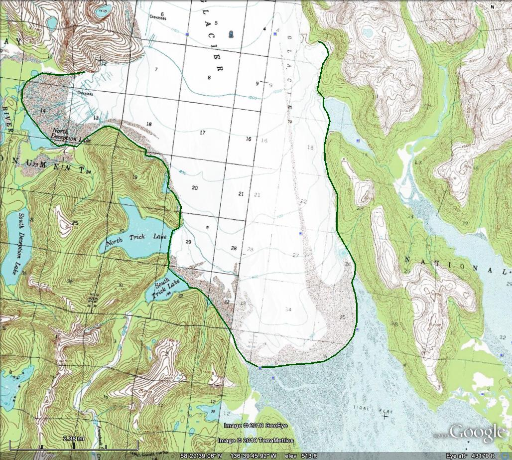 dy Glacier, Alaska begins a substantial retreat - From a ... on