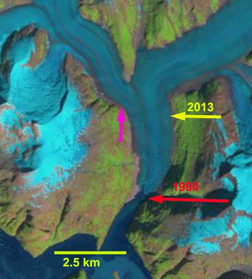 sawyer Glacier 1990