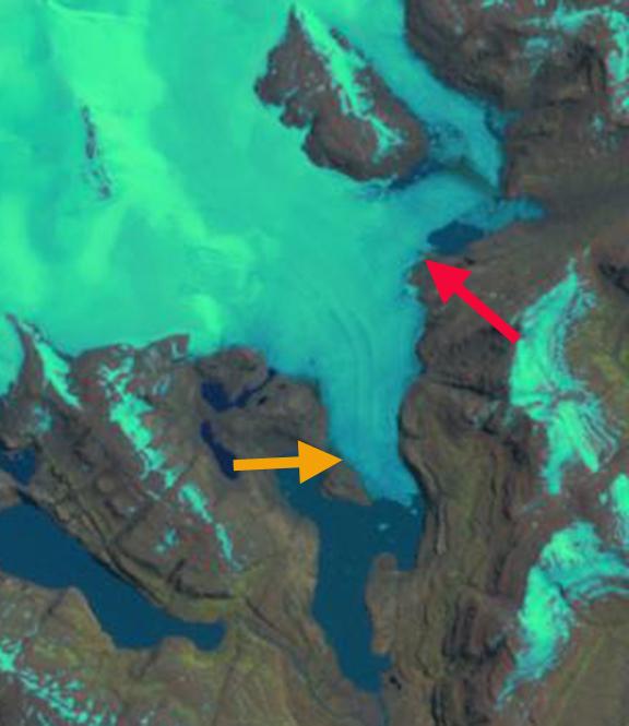 ampere glacier 2001