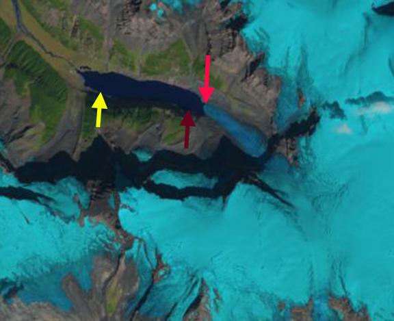 columbia glacier BC 2014