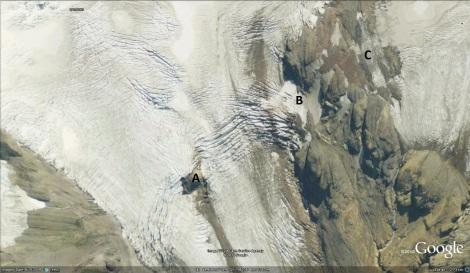 mazama mid glacier 2009