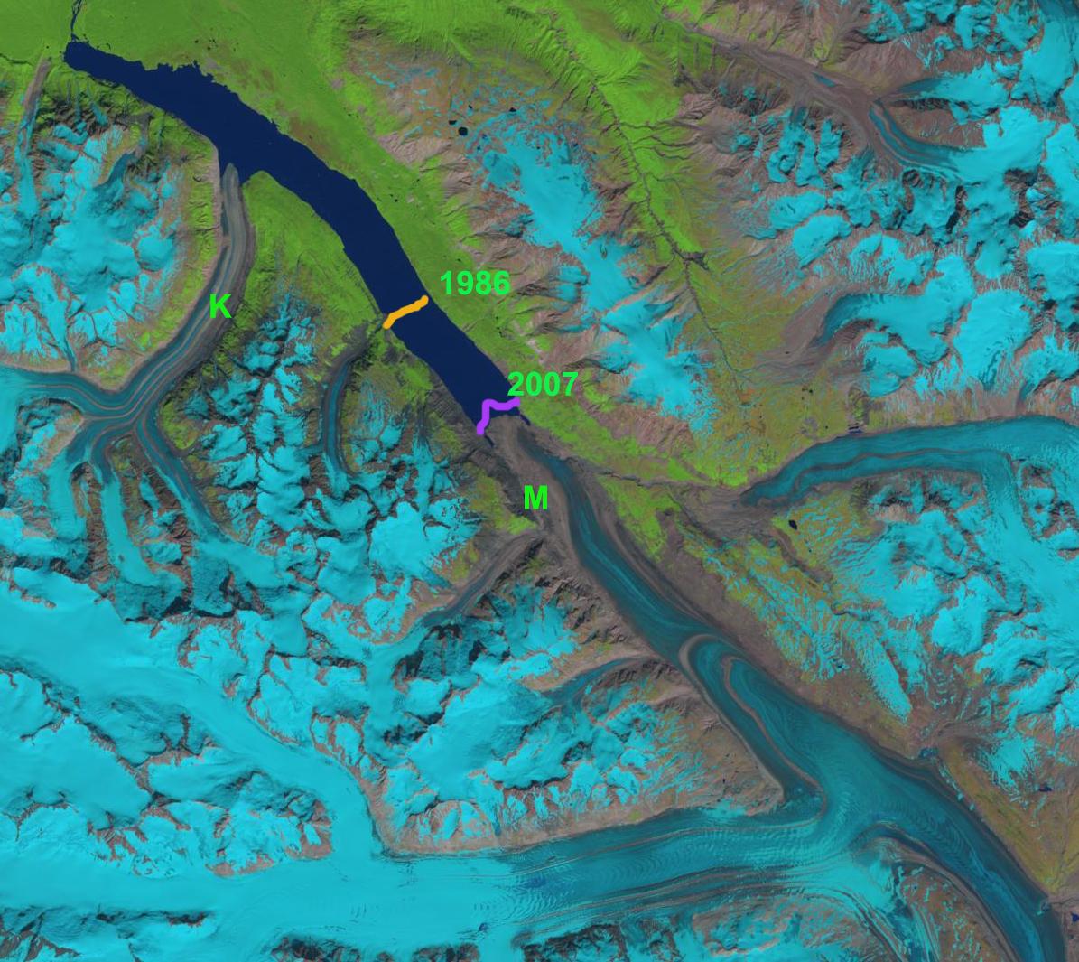 melbern glacier 2013