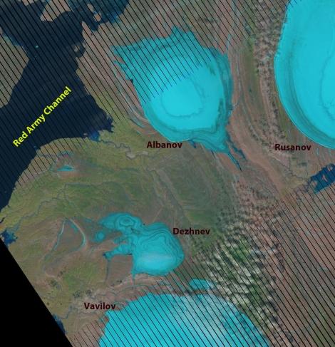 severnaya ice cap