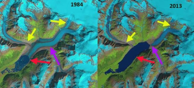 speel glacier 1984-2013