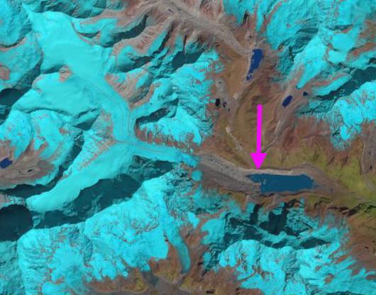 barun glacier 2013
