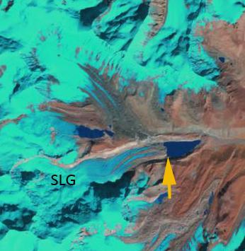 s Lhonak glacier 2000