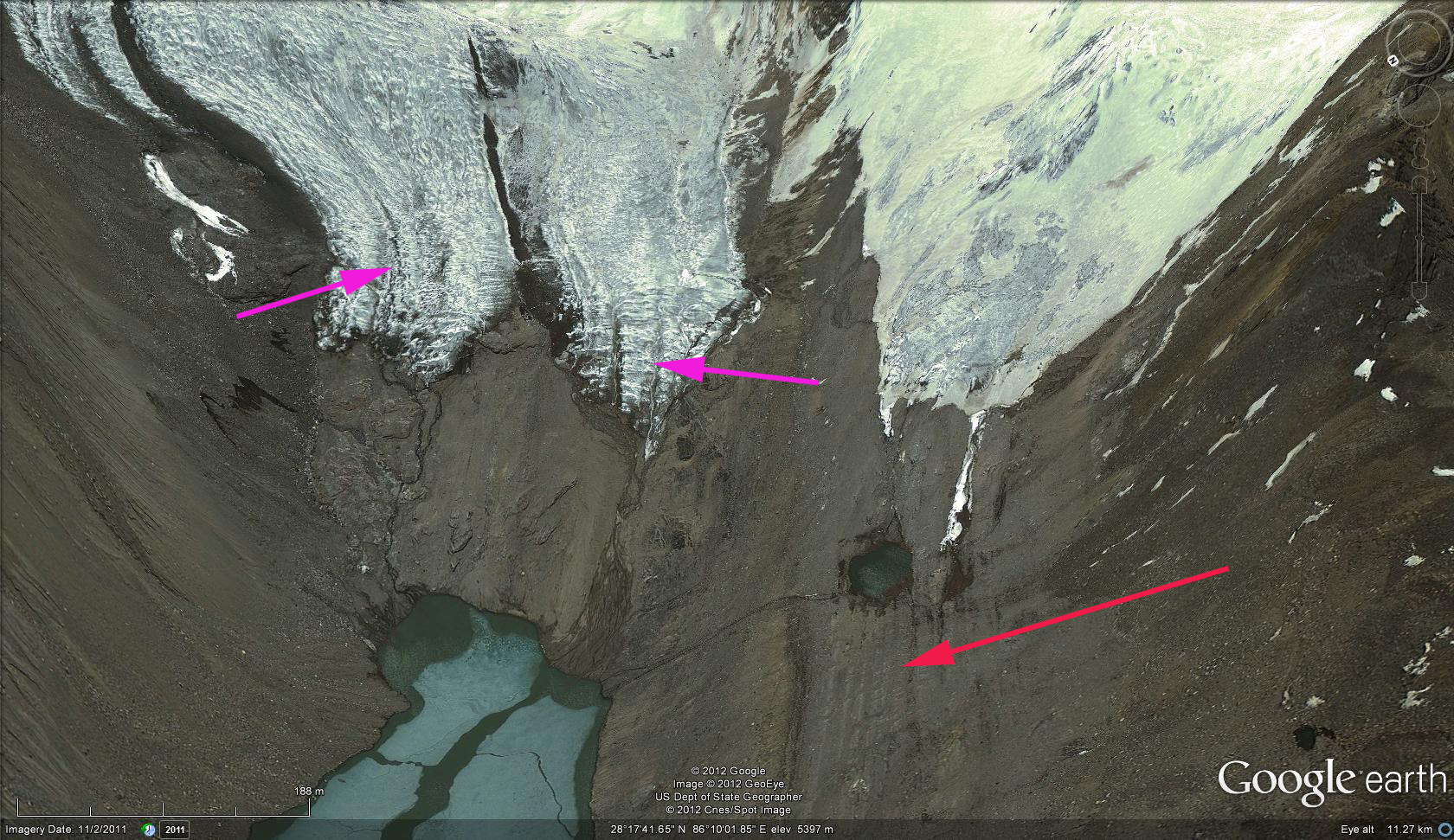 Tibet glacier retreat – From a Glaciers Perspective