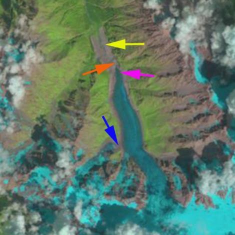 karaugom glacier 2010