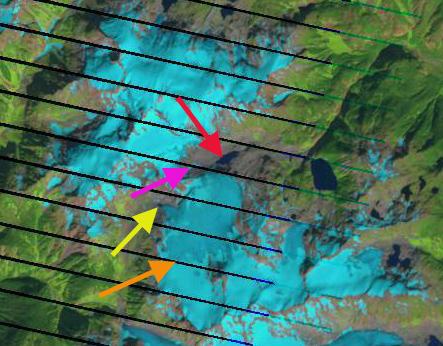 snowcap creek glacier 2012
