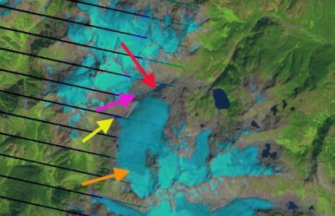 snowcap glacier 2009