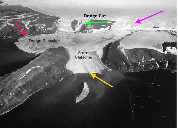 dodge and storm glacier 1950