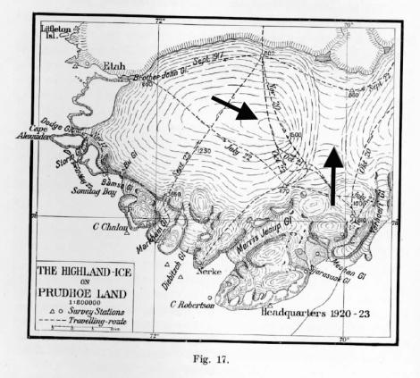 dodge and storm glacier map
