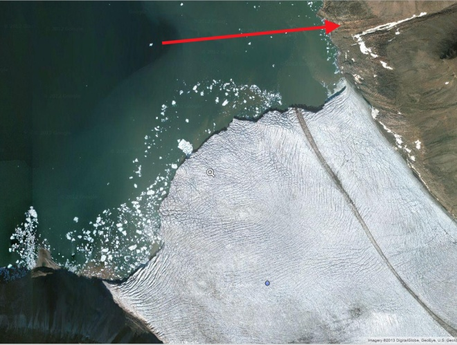 dodge glacier front