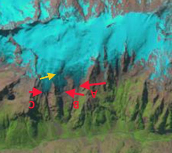 girose glacier 1985