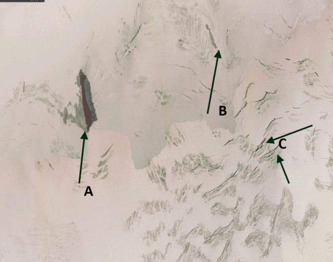 girose glacier acc zone 2003
