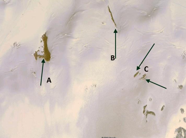 girose glacier acc zone 2010