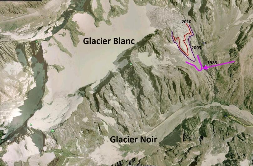 glacier blanc ecrins