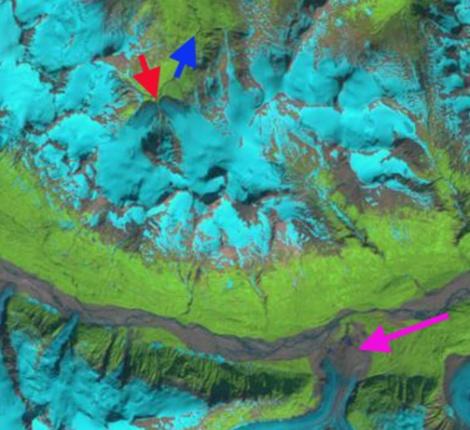 gold rush glacier 1986