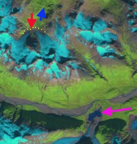 gold rush  glacier  2010
