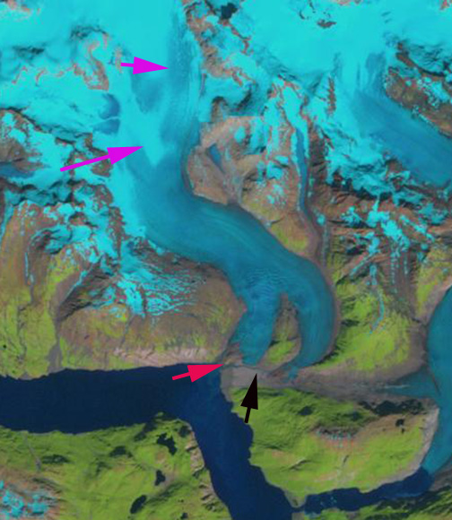 riggs glacier 2009