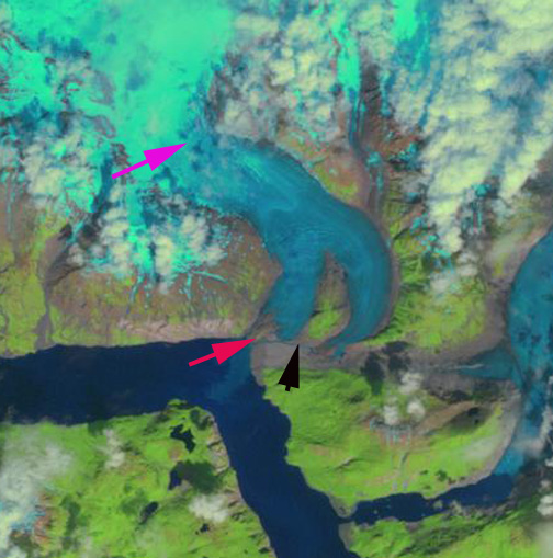 riggs glacier 2011