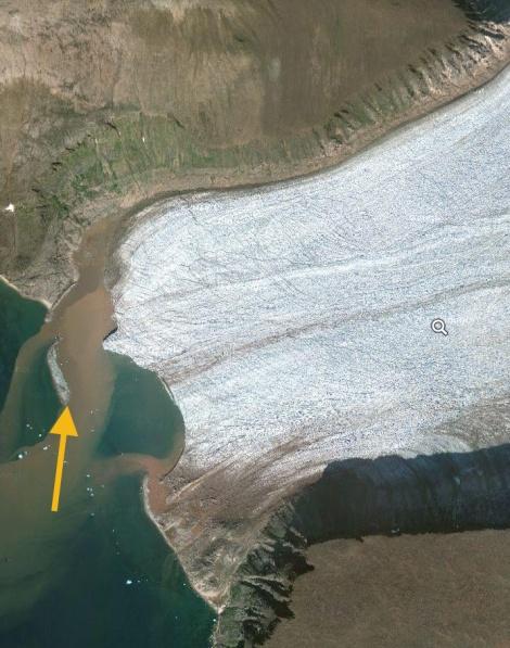 storm glacier front