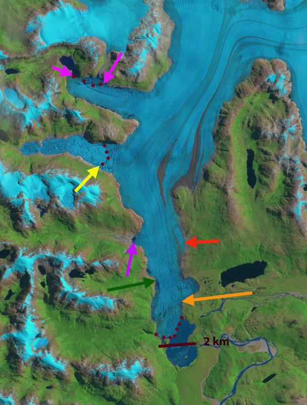 glaciar steffen 1999