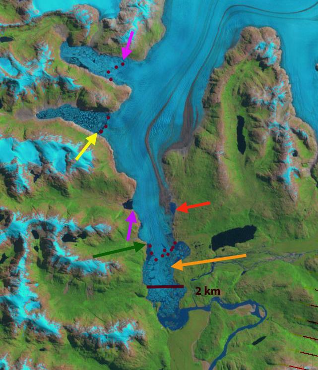 glaciar steffen 2011