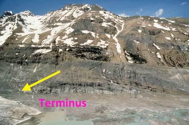 saskatchewan Glacier 1983t