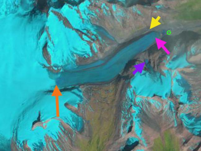 saskatchewan glacier 1986.