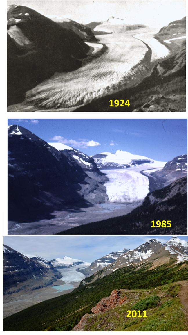 saskatchewan glacier timelapse
