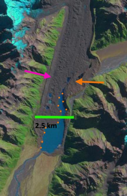 tasman glacier 2000