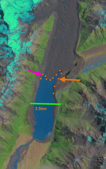 tasman glacier 2013