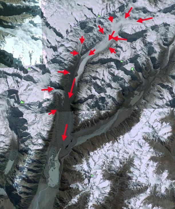 tasman glacier ge