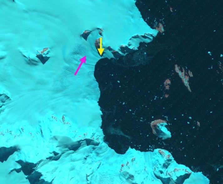 sheldon glacier 1991