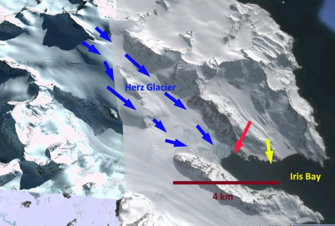 herz glacier ge