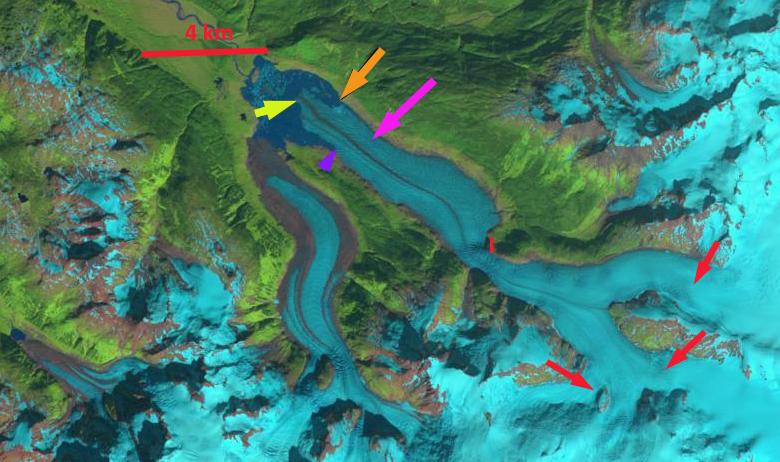porcupine glacier 1985
