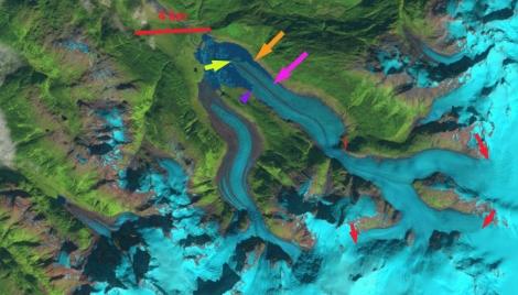 porcupine glacier 1999