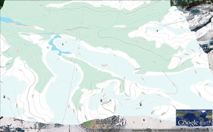 porcupine map
