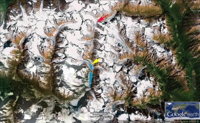 bode zangbo glaciers ge